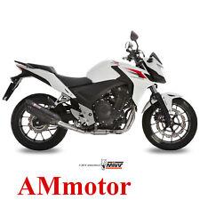 Mivv Honda CB 500 F / X 2015 15 Escape Moto Silenciador Suono Black