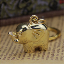 Key Chain Bag Pendant Key Ring Elephant Charm New Fashion Alloy Elephant Shape