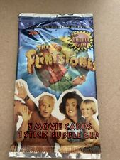 The Flinstones Movie 5 Cards And GUM by Topps - Unopened - 1993