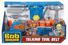Bob the Builder - Talking Tool Belt DGY47 100% Brand New