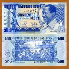 Guinea Bissau, 500 Pesos, 1990, P-12, UNC