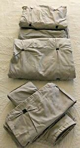 INK & IVY MAISIE EMBROIDERED FULL/QUEEN DUVET COVER 3 PC SET -- NEW