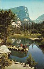 Postcard Mirror Lake Yosemite National Park California