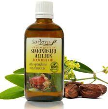 Jojoba Oil 100 ml / 3.6 oz | 100% Pure Raw Organic Virgin - Golden Type