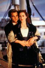 Leonardo DiCaprio Kate Winslet Titanic embracing on ship 11x17 Mini Poster