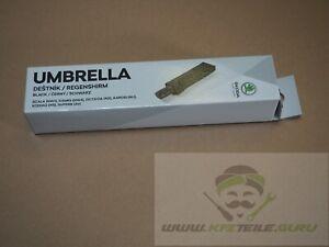 Original Regenschirm schwarz Skoda Superb 000087600G 9B9 Neu