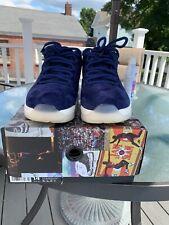 """Air Jordan Retro 11 Low  100% Authentic Derek Jeter Shoes """"RE2PECT""""Size 14"""