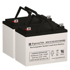 Optiway Technology 1704FS Replacement Battery Set By SigmasTek - GEL 12V 32AH NB