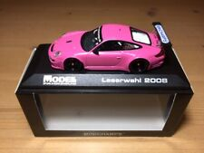 Porsche 911 GT3 RS Modell Fahrzeug pink 403086703 Minichamps 1:43 Neu OVP