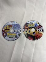 Pac-Man and the Ghostly Adventures 1 And 2 Game Lot Wii U Discs Only TESTED