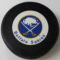 BUFFALO SABRES VINTAGE 90s INGLASCO NHL SLOVAKIA OFFICIAL VEGUM HOCKEY PUCK