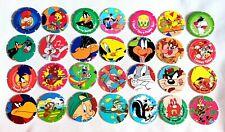 90's Looney Tunes Pogs bundle - 10x Tazo - 1996 Vintage Retro Gaming