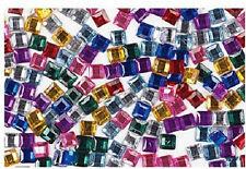 Gem Stones 4mm Gem Squares Assorted 4mm 400pk
