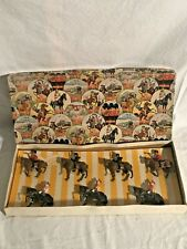 Crescent Toy Soldiers 2215 Cavalry England With Box