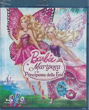 Blu-ray **BARBIE ♥ MARIPOSA E LA PRINCIPESSA DELLE FATE** nuovo sigillato 2013