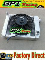 MINI COOPER S,ONE,CLUBMAN 850/998/1098/1275 CC GT 59-96 ALUMINUM RADIATOR & FAN