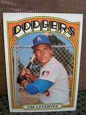1972 Topps # 369 Jim Lefebvre... NM-MT+... DODGERSS    ...RB-3186