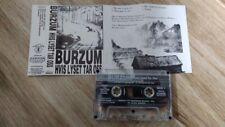 412BURZUM hvis lyset tar oss 1994 oop rare cassette CARRION
