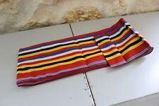 Coupon de tissu - Bande de tissu ancien - Rayé - 13.5 cm x 7m30