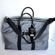 New Kenneth Cole Duffle Bag Tote Gray Weekend Travel Sports Shoulder Crossbody
