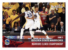 2016-17 PANINI INSTANT WARRIORS CLINCH CHAMPIONSHIP DRAYMOND/CURRY GAME 5 WIN!