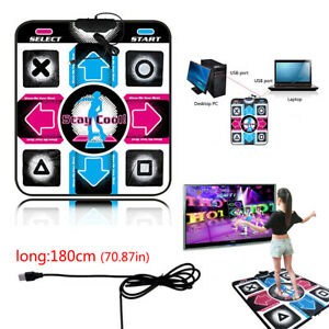 USB Non Slip Dancing Step Dance Mat Pad Blanket For PC TV Video Household Game