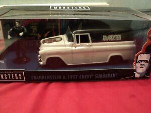 "Jada 1957 Chevrolet  Suburban   ""Frankenstein "" w/ figurine 1/24 NIB 2021"