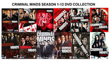 CRIMINAL MINDS Complete Collection Series 1-12 DVD Box Set Season 1 to 12 UK NEW
