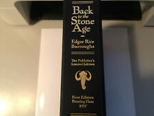 Edgar Rice Burroughs   BACK TO THE STONE AGE & Orig. Printing Plate 1937! RARE!
