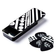 Eddie Van Halen Guitar Picks Tin Evh Circles Dunlop Max Grip New Free Shipping