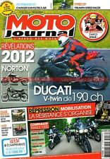 MOTO JOURNAL 1957 YAMAHA XTZ 1200 Super Ténéré BMW R1200 GS TRIUMPH 1050 Speed