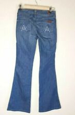 7 Seven for all mankind 'A' Pocket Womens Jeans Low Rise Size 26 Flare