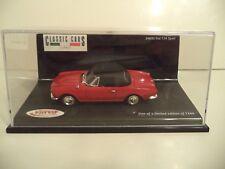 VITESSE   FIAT 124 SPORT    1/43RD SCALE    IN  CASE.