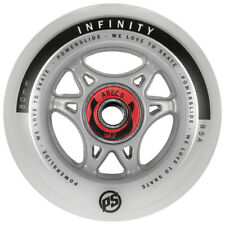 Powerslide Infinity RTR 80mm Wheels ABEC 9 Inline Skate Rollen Ready To Roll NEU