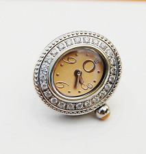 Genuine Pandora  Watch Oval Time Bead Champagne with CZ - TB1002CHCZ - retired