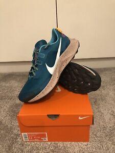 Mens Nike Pegasus Trail 3 UK 10 Teal/Grey Style DA8697-300 BNIB RRP £115