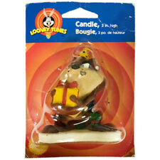 Damaged LOONEY TUNES TAZ CAKE CANDLE ~ Birthday Party Supplies Decorations