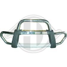 Bullbar barra paravacche MAZDA BT-50 2006 > 2012 nero anodizzato alluminio