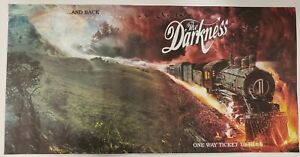 """The Darkness """"One Way Ticket To Hell ...And Back"""" 11"""" x 22"""" promotional poster"""
