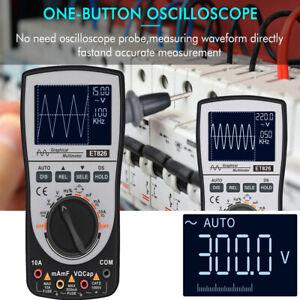 2in1 Intelligent Oszilloskop Multimeter DC / AC 4000 Zählt 20 kHz 200 ksps K9O0