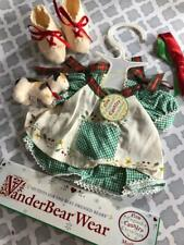 NEW Muffy Vanderbear VTG New England Christmas Outfit  North American Bear Co
