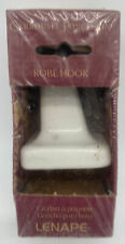 Lenape Carrousel Porcelain Robe Hook #423 New in Package NIP Made in USA