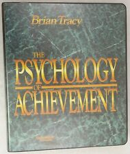 Brian Tracy - The Psychology Of Achievement Course Book & Cassette Self Help