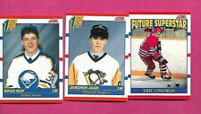 1990-91 SCORE JAGR RC + LINDROS RC + MAY RC  NRMT-MT CARD  (INV# C4465)