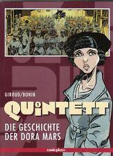 Quintett Nr. 1 - 5 komplett Softcover Comic v. Giroud / Bonin Comicplus Neuware