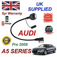 For AUDI A5 4F0051510C iPhone 3GS 4 4s iPod AMI MMI Audio Cable PRE MY 2009