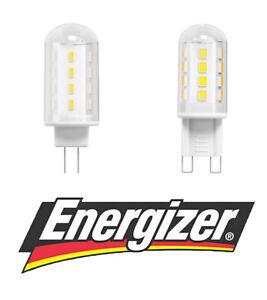 Energizer LED G4 G9 Bulbs Capsules 2.2w = 20w 2.2W = 20W WATT 2700k Warm White