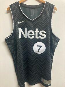 Brooklyn Nets Men's NBA Jersey - Nike Earned Edition - XL - Durant 7 - NWD