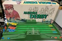 Vintage 1972 Aurora Derby Classic Horse Racing Game Vintage Roll-A-Ball Complete