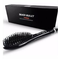 Silver Bullet Hybrid Ionic Straightening Brush Dual Voltage Adjustable temp.